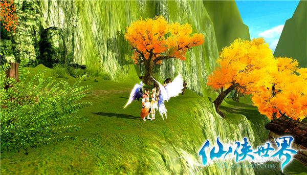 站在蓝天绿树之下,脚踏青草,内心已经感受到了那阵柔柔的春风